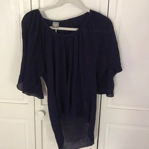 Bobi blouse - Navy - XS
